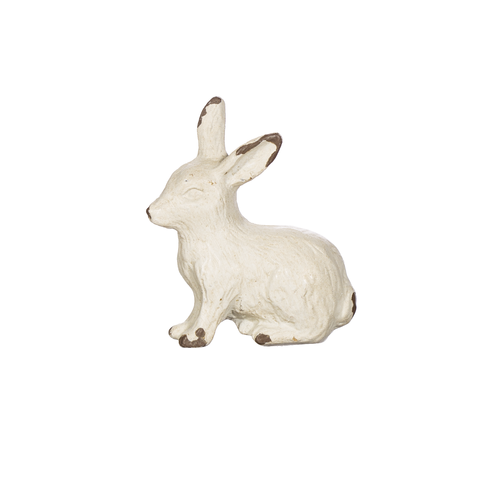 Sass and Belle Antique White Rabbit Drawer Knob
