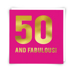 Redback Cards 50 and Fabulous Card