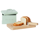 Maileg PRE ORDER Maileg  Miniature bread box with cutting board and knife - Estimated arrival end November