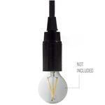 CCIT E14 Plain black bakelite Lampholder, lamp holder
