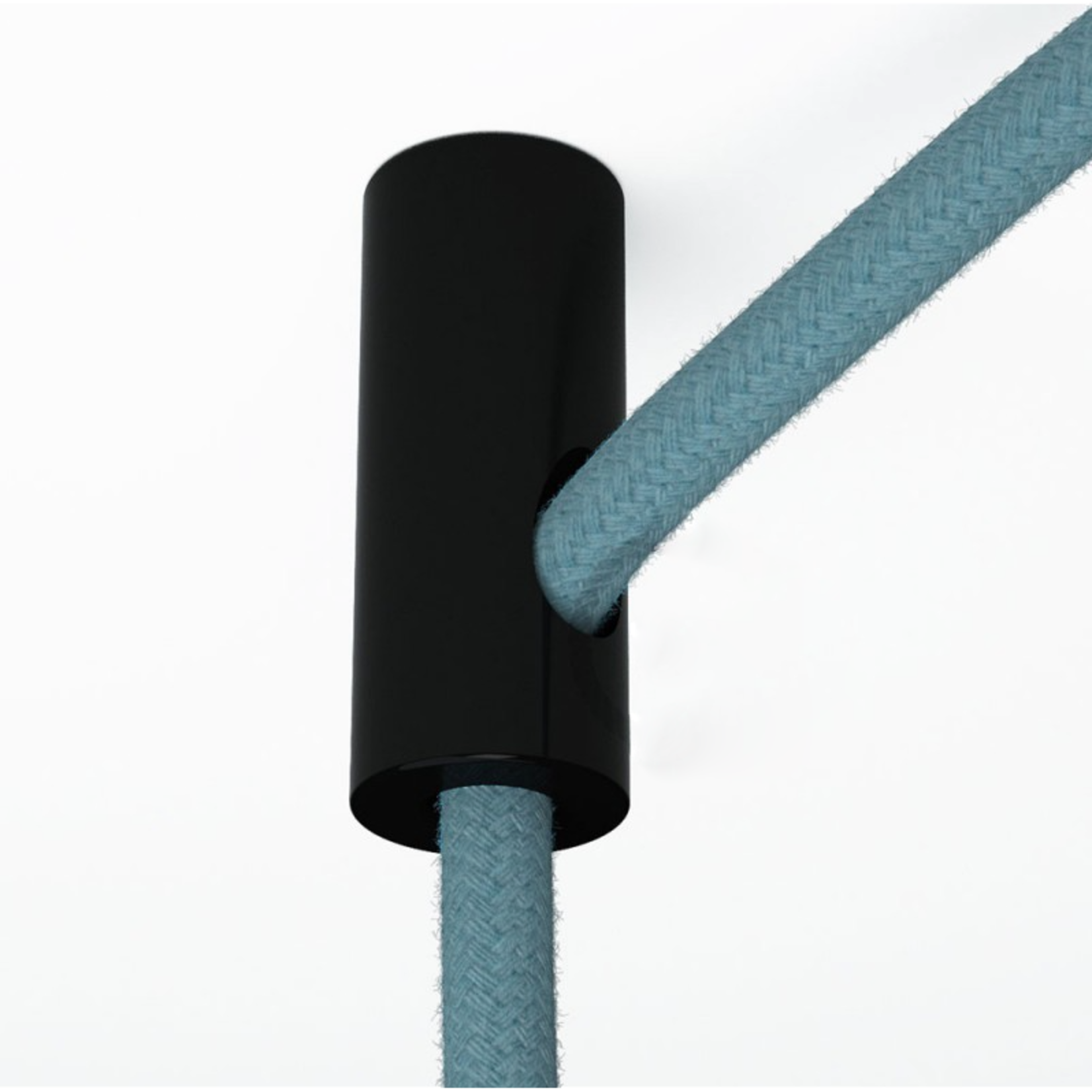 CCIT Cable Drop & Grip Black Plastic ceiling hook and stop fabric cable grip for cable
