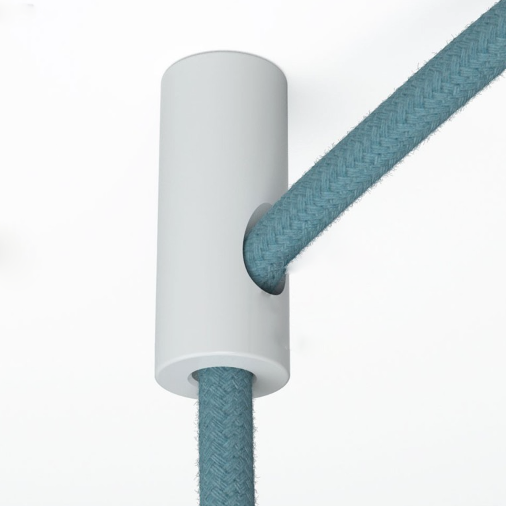 CCIT Cable Drop and Grip White Plastic ceiling hook and stop fabric cable grip for cable