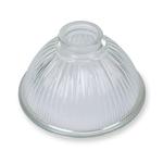 GT Glass Petit Paris SHADE - NO FIXINGS. Dim: H11.5 X Diameter 16.5cm