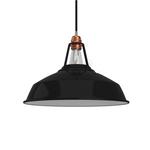 CCIT Industrial Harbour Lampshade Black  - E27 metal 38 cm diameter