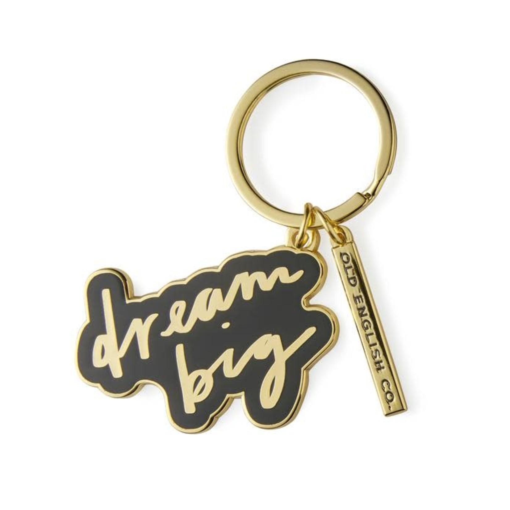 OLD ENGLISH CO. Dream Big Keyring