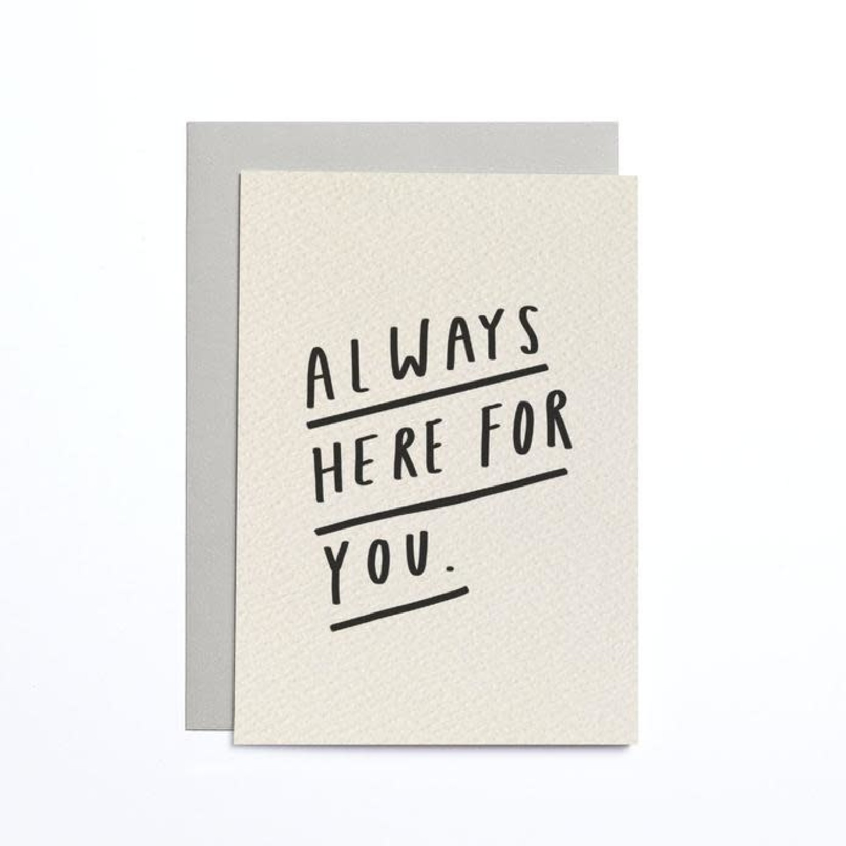OLD ENGLISH CO. Always Here Cream Small Card