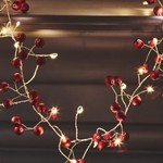 Light Style London Red Berry Mains Fairy Lights
