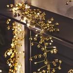 Light Style London Golden Bells Mains Fairy Lights