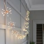 Light Style London Starburst Chain (Copper) Mains Fairy Lights