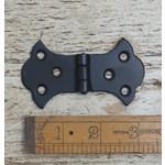 IRON RANGE Butterfly Hinge Equal Steel Satin Epoxy Black 88 x 52mm