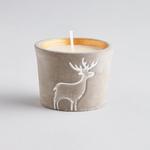 St. Eval St Eval Christmas Reindeer Pot Candle Orange and Cinnamon
