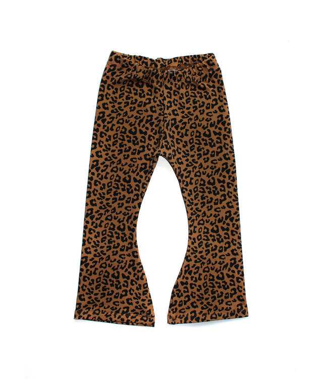 Flared | Leopard Toffee