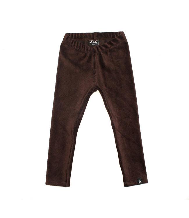 Legging | Rib Chocolate