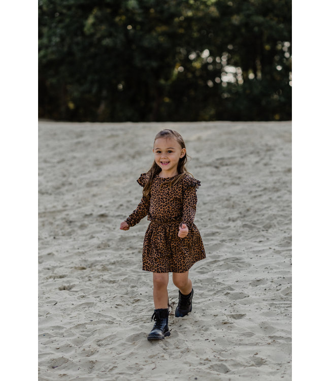 Skirt | Leopard Toffee