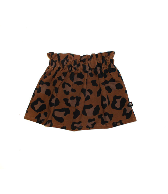 Skirt | Leopard Brown