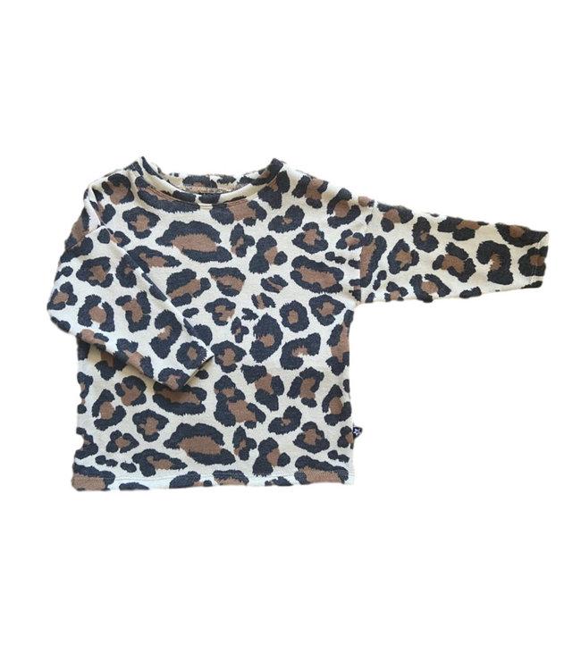 Oversized Tee | Big Leopard