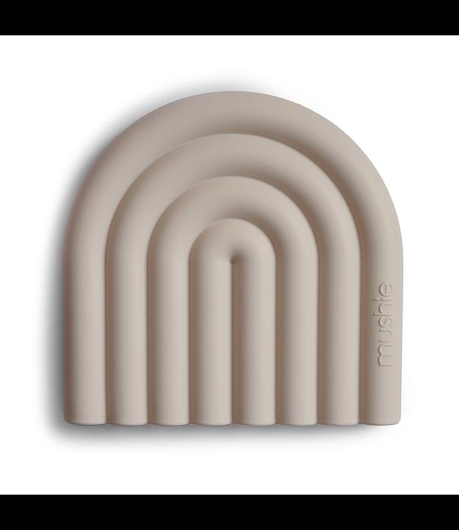 Mushie Bijtring Teether | Rainbow Sand