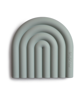 Mushie Bijtring Teether | Rainbow Sage