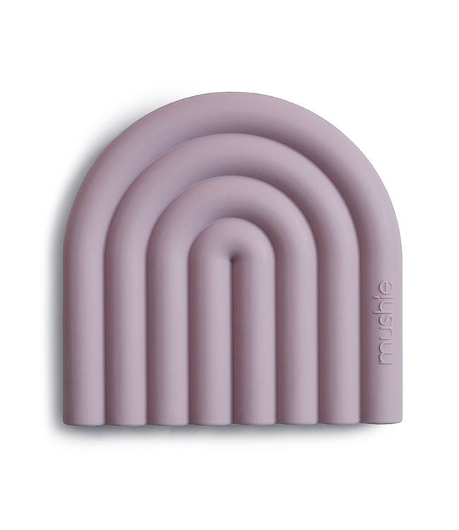 Mushie Bijtring Teether | Mauve