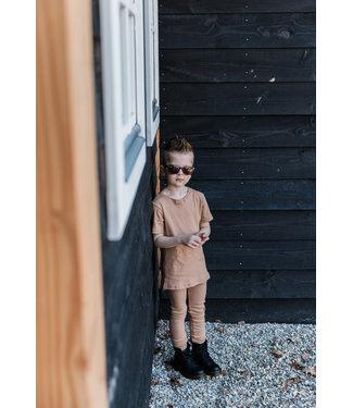 By Kels Rib Legging | Camel