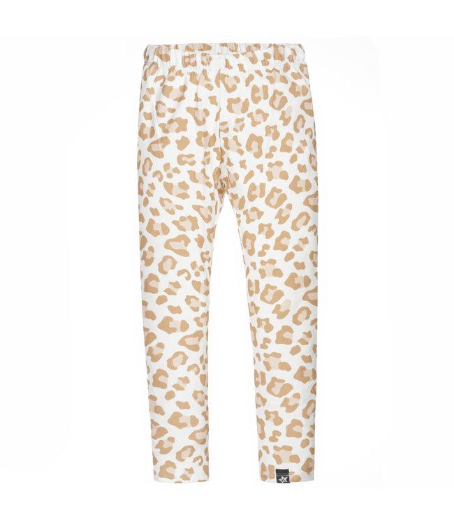 Legging   Leopard Camel