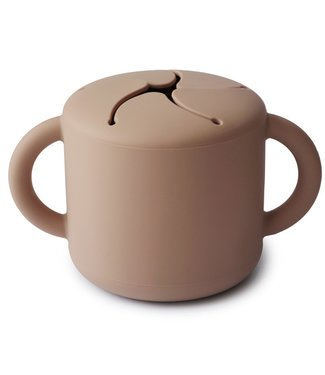 Mushie Snack Cup   Naturel