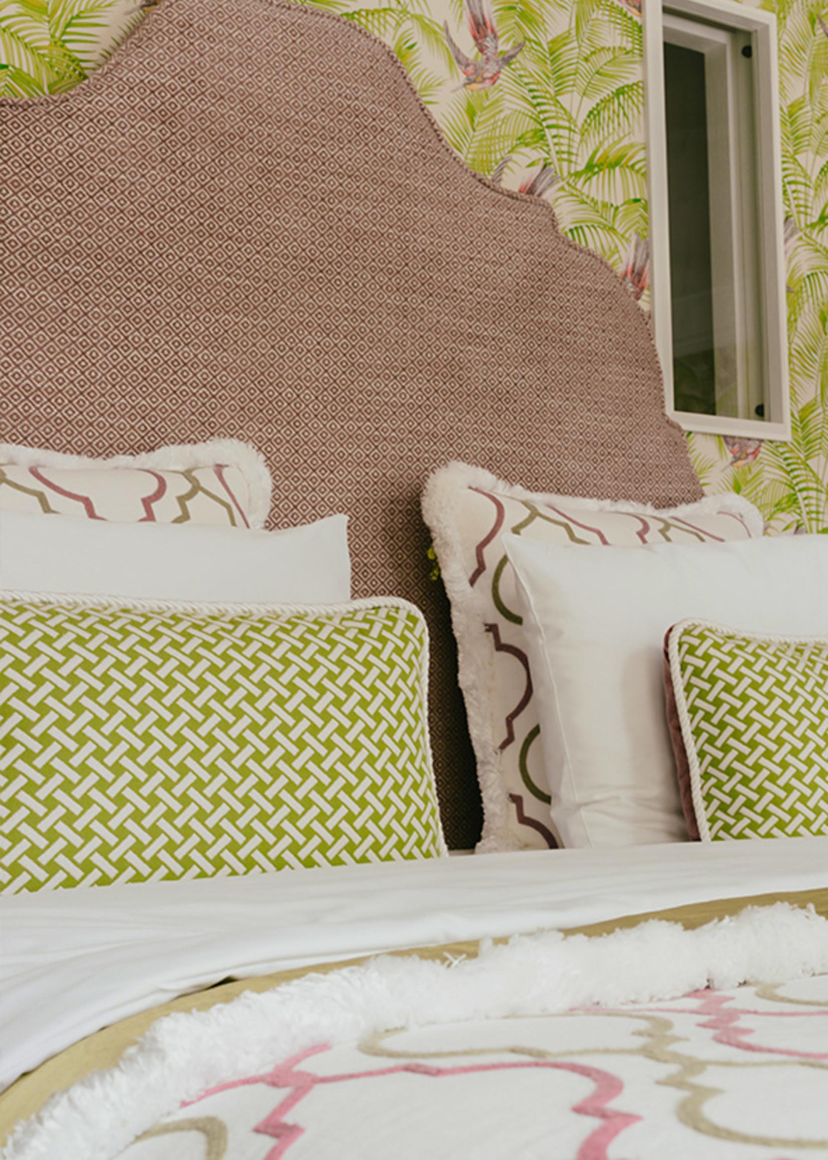 Esther's Tropical Bird room's pillows
