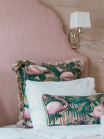 Esther's Flamingo Room's pillows, two sizes