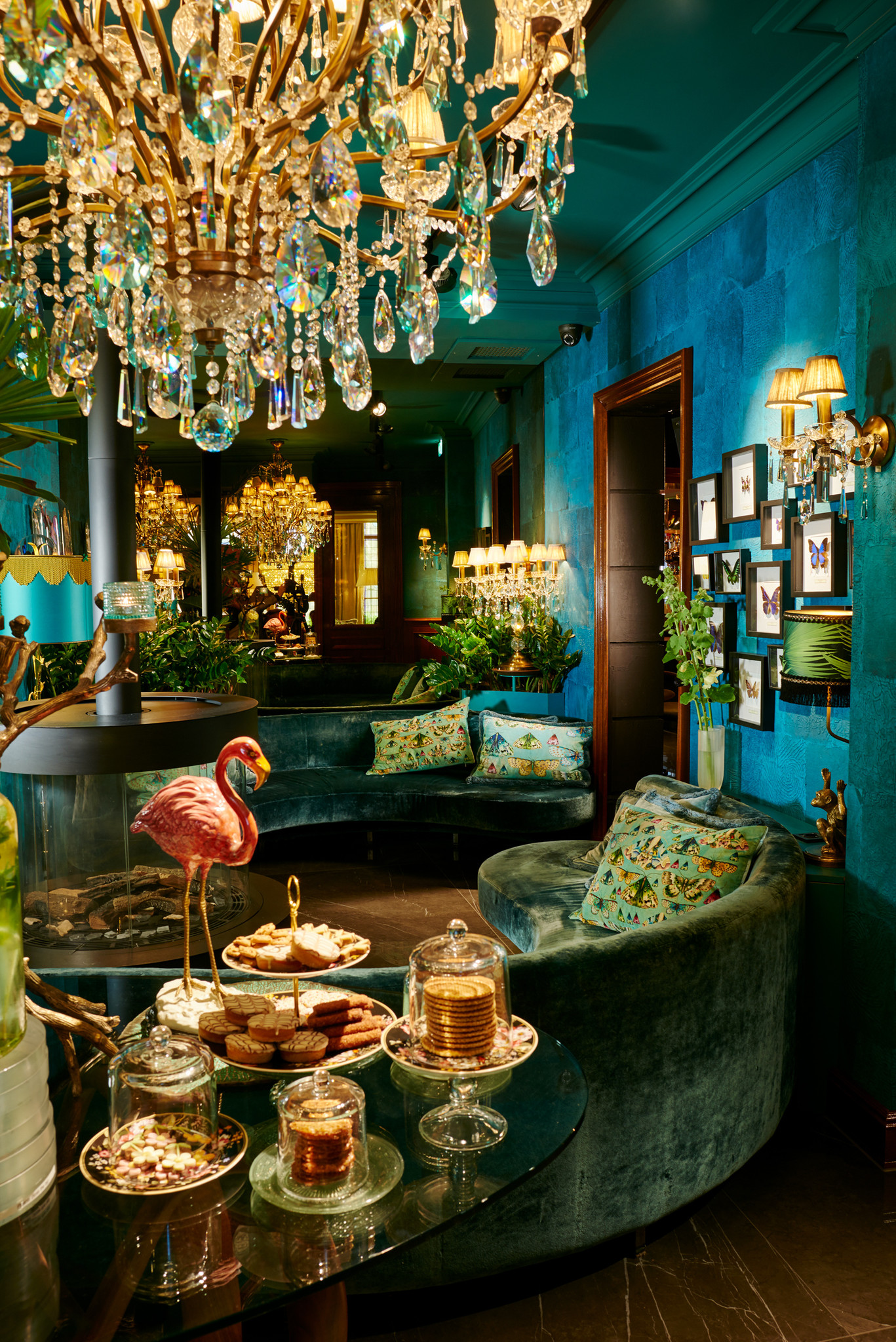 Blue Butterfly room of Hotel Estheréa Amsterdam