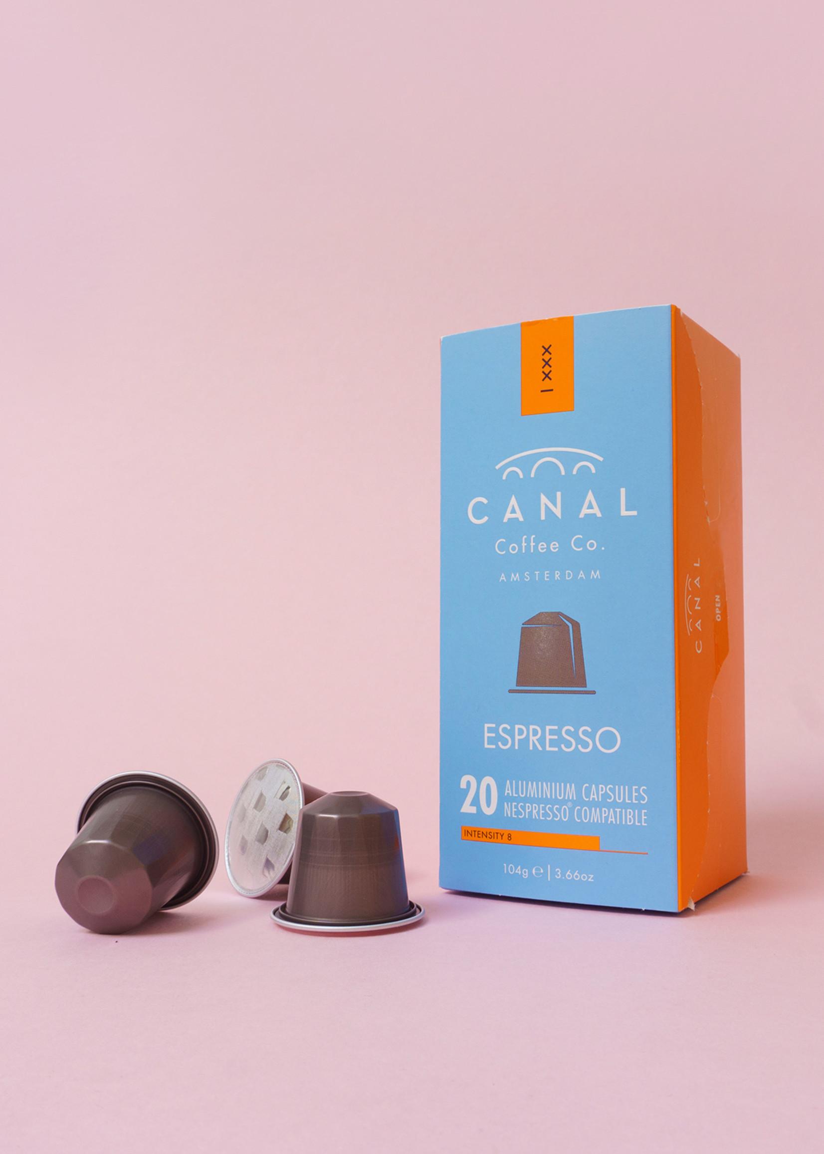 Canal Coffee & Co Biologisch en fairtrade Canal Espresso capsules