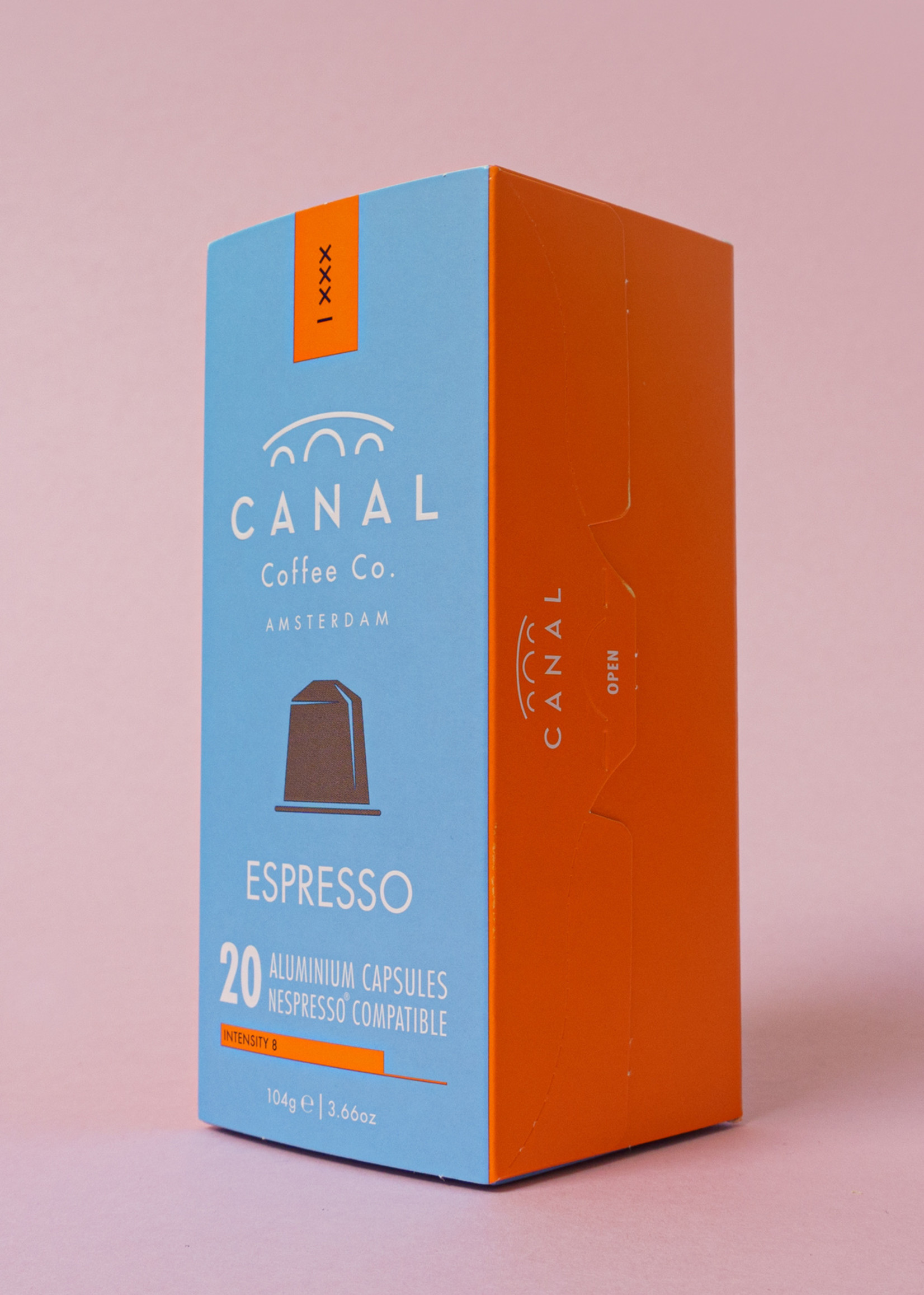 Canal Coffee & Co Organic and fairtrade Canal Espresso capsules