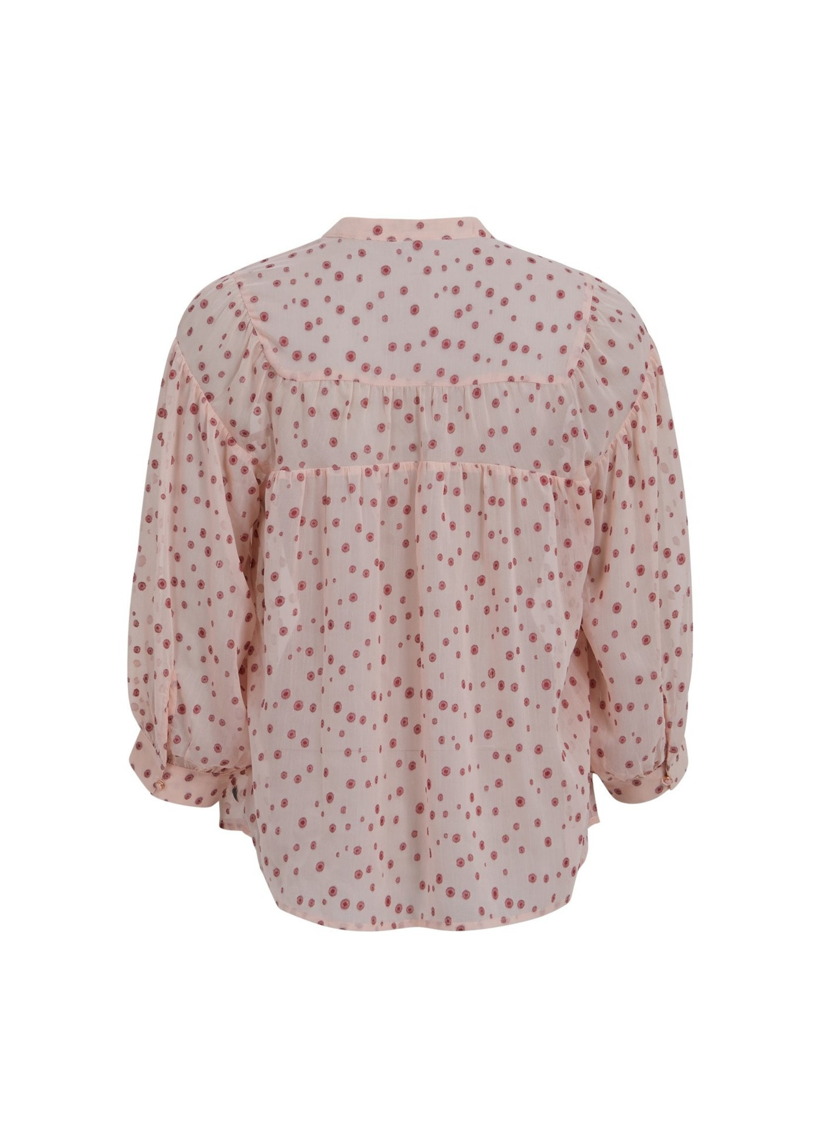 Coster Copenhagen LOOSE SHIRT WITH GATHERINGS