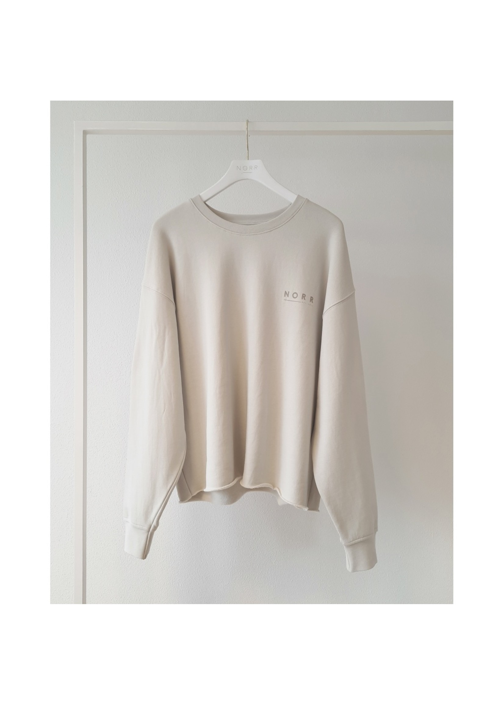 Norr DAISY SWEAT TOP
