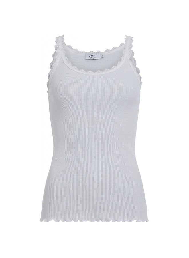 Heart silk lace camisole