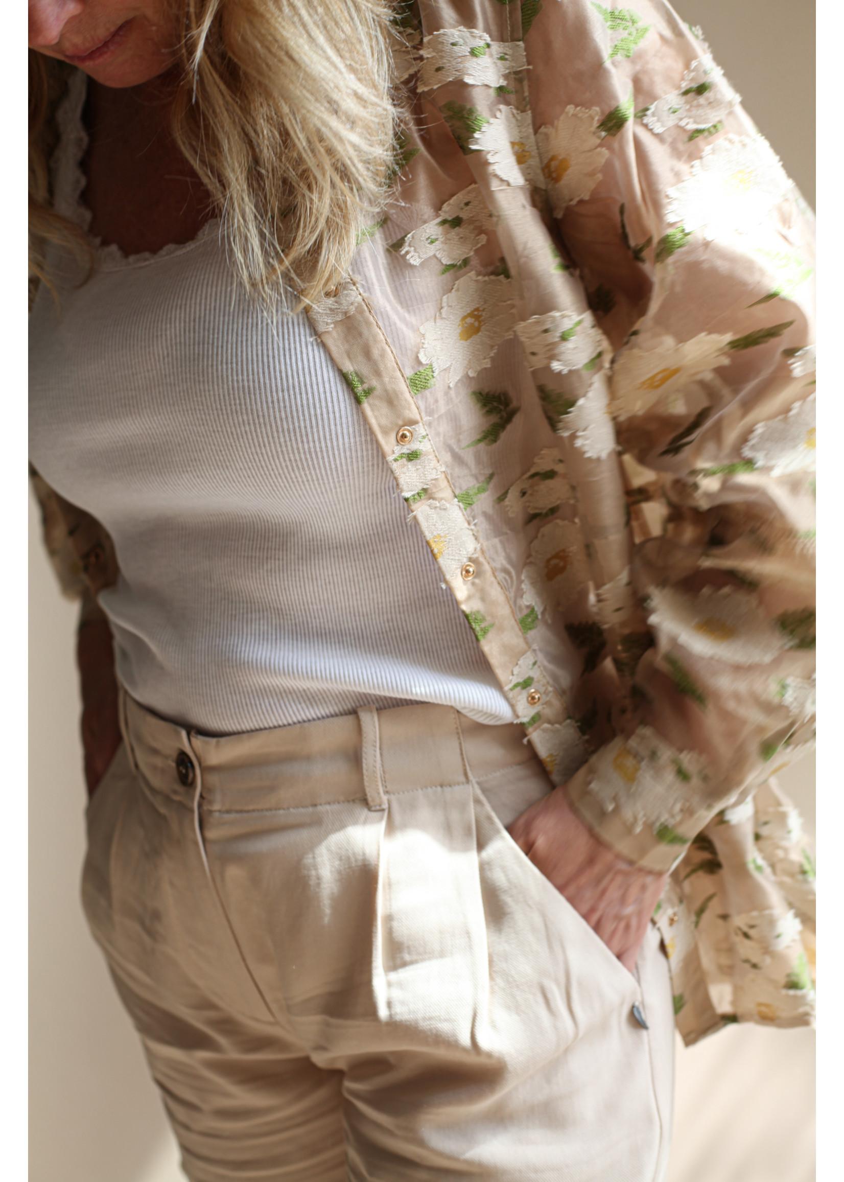 Coster Copenhagen Heart silk lace camisole