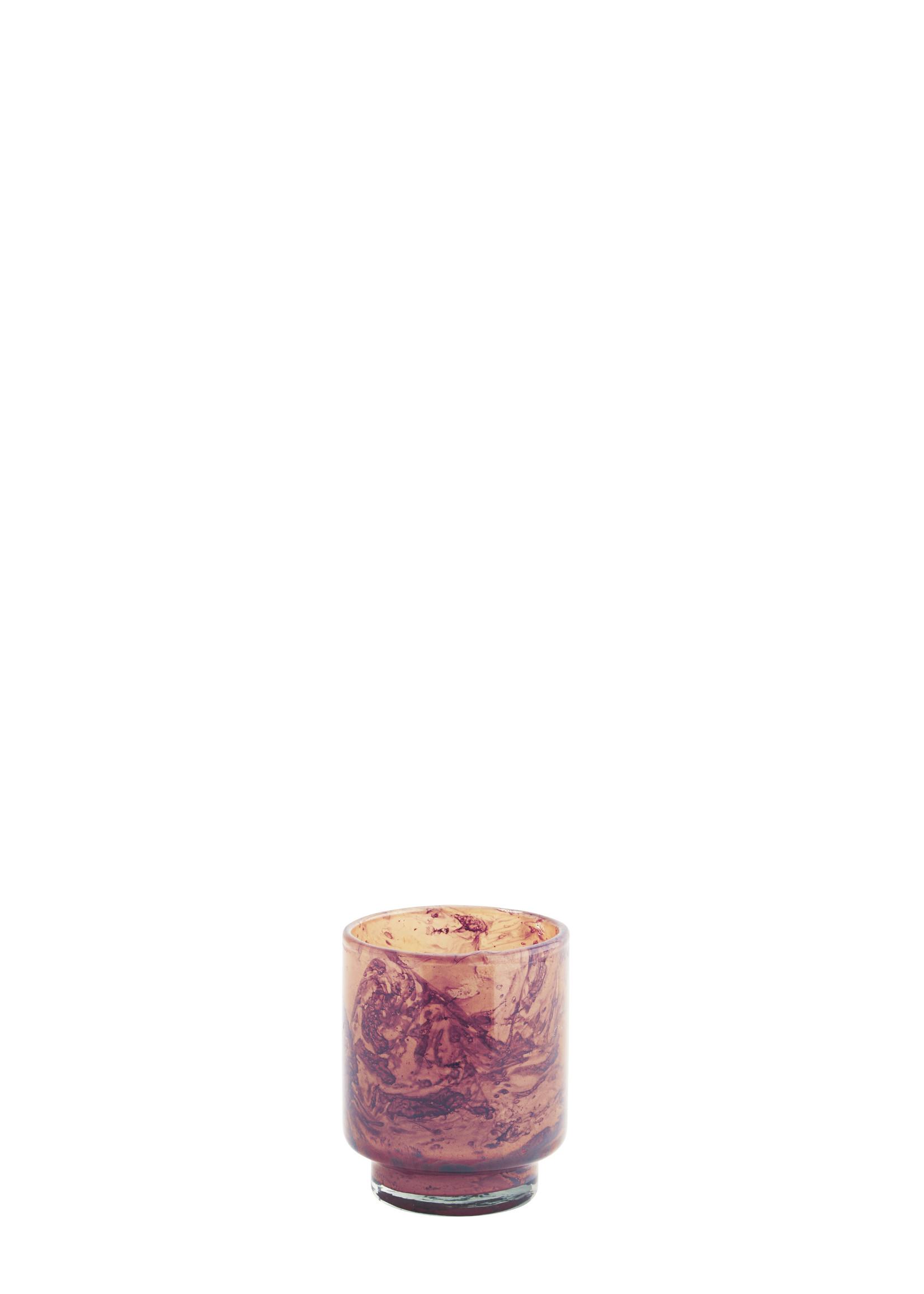 MADAM STOLTZ GLASS VOTIVE SMALL