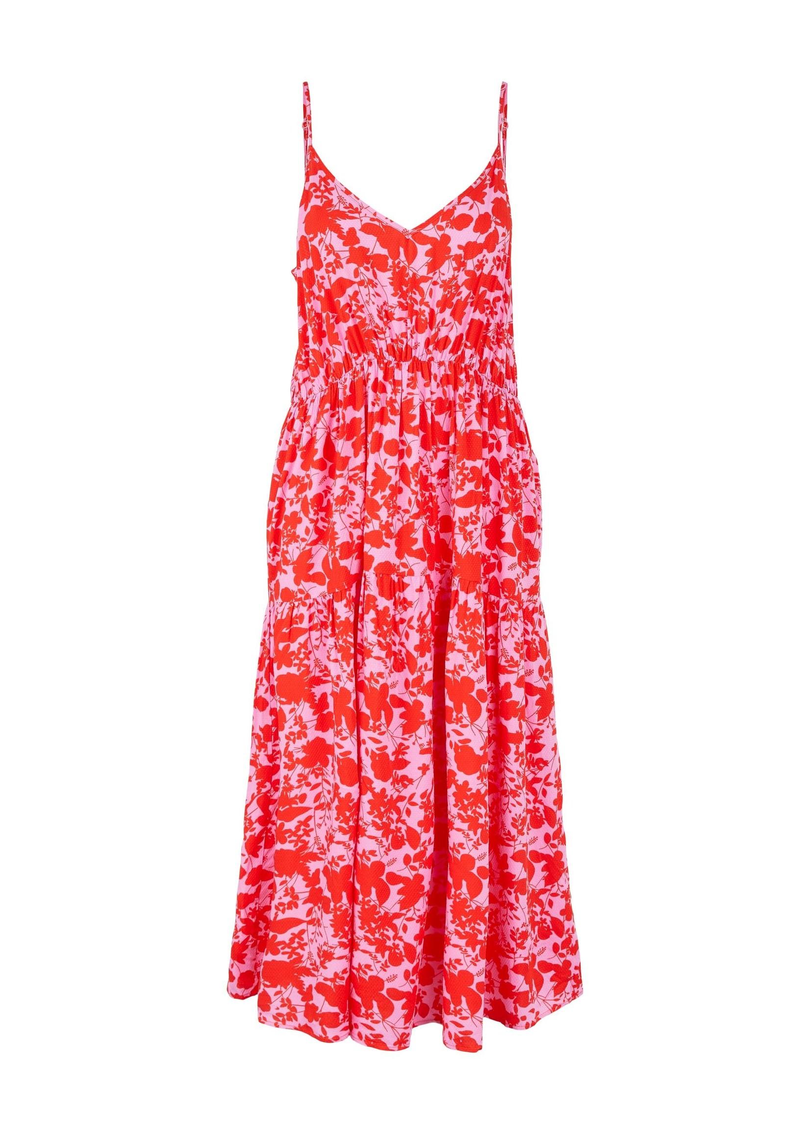 YAS Sanna Strap Midi Dress