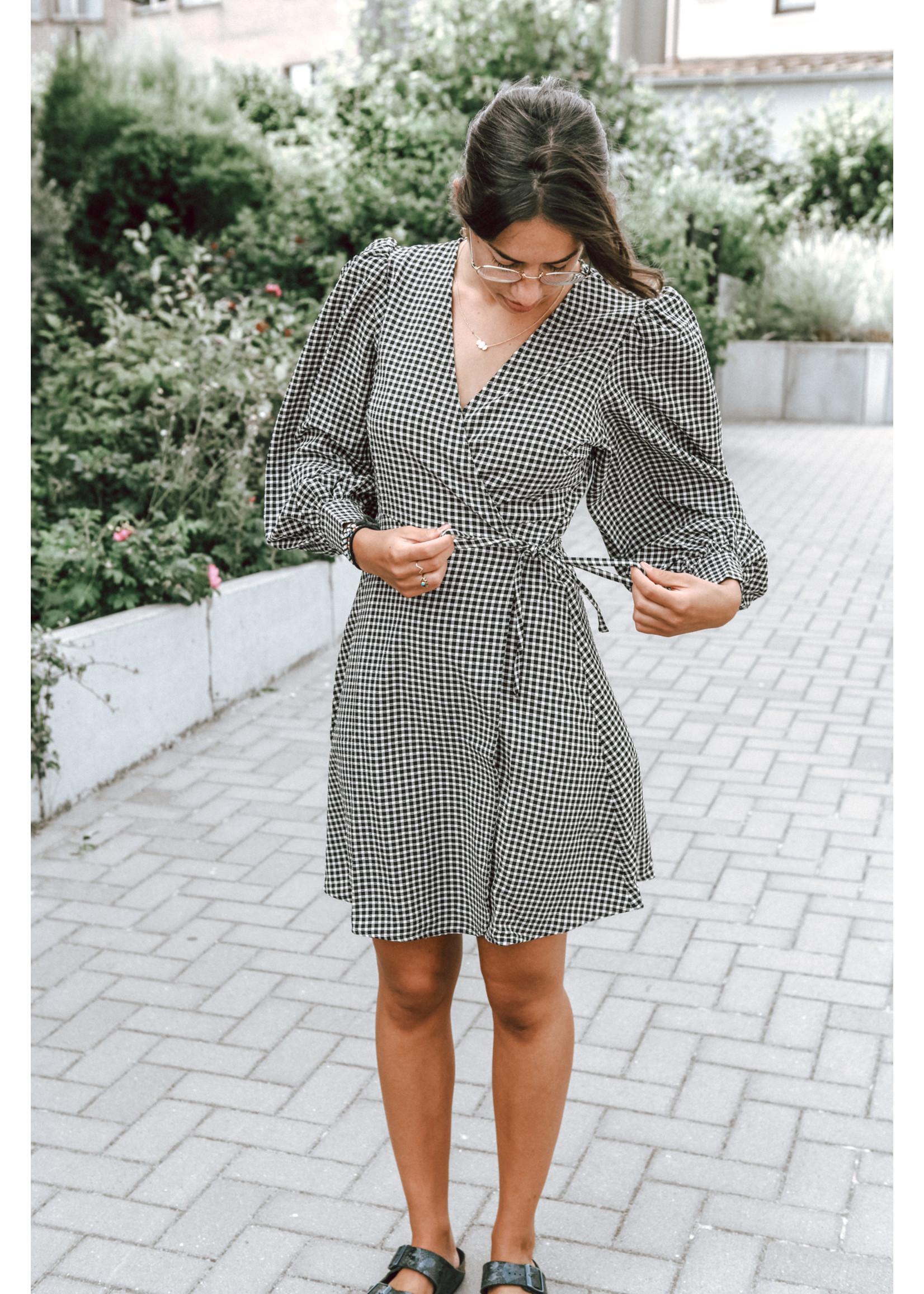 Selected Femme CHARLIE SHORT WRAP DRESS