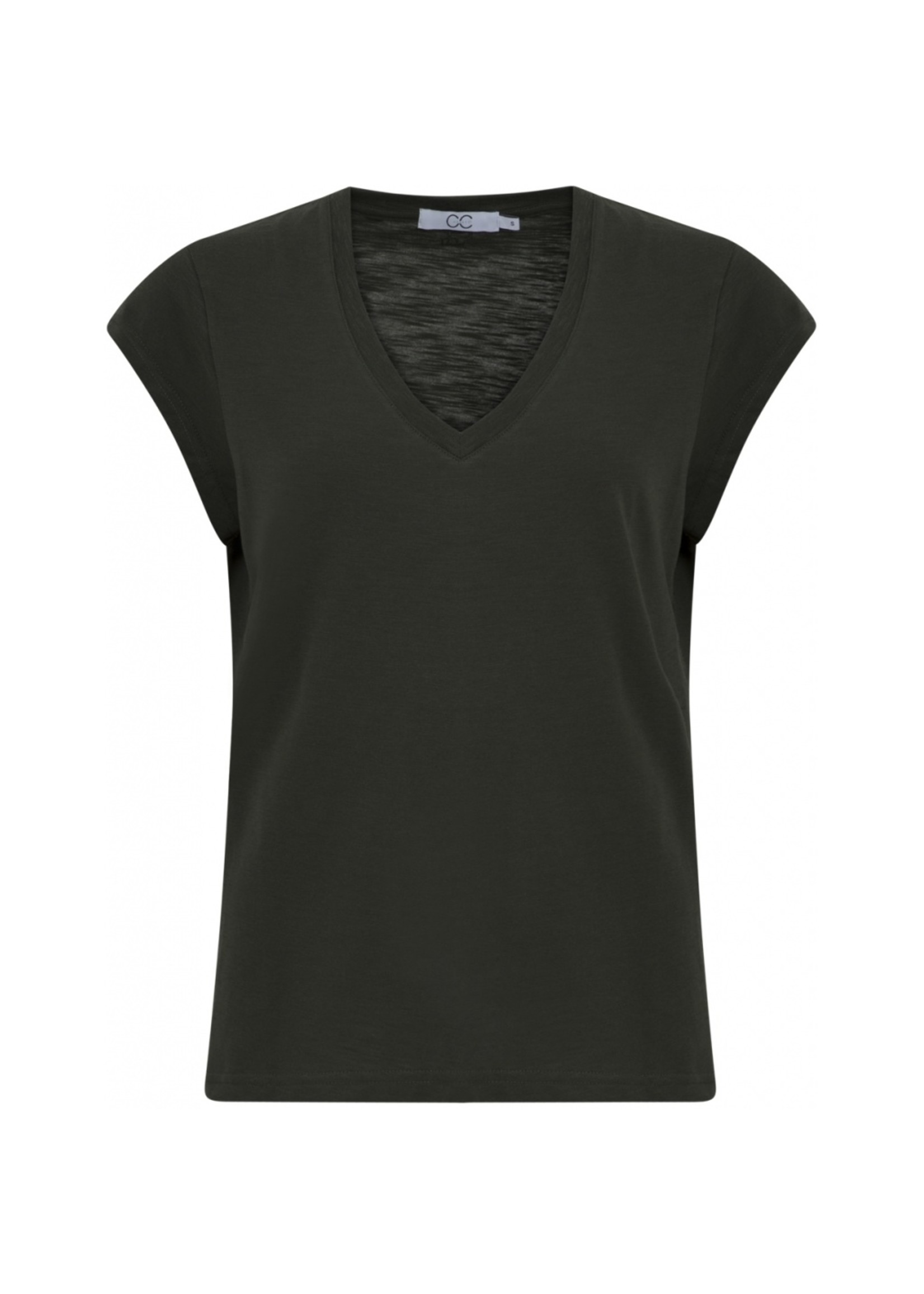 Coster Copenhagen Heart basic v-neck t-shirt HG
