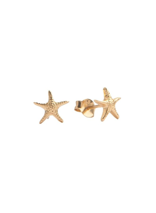 PARADE EARRINGS STARFISH GOLD
