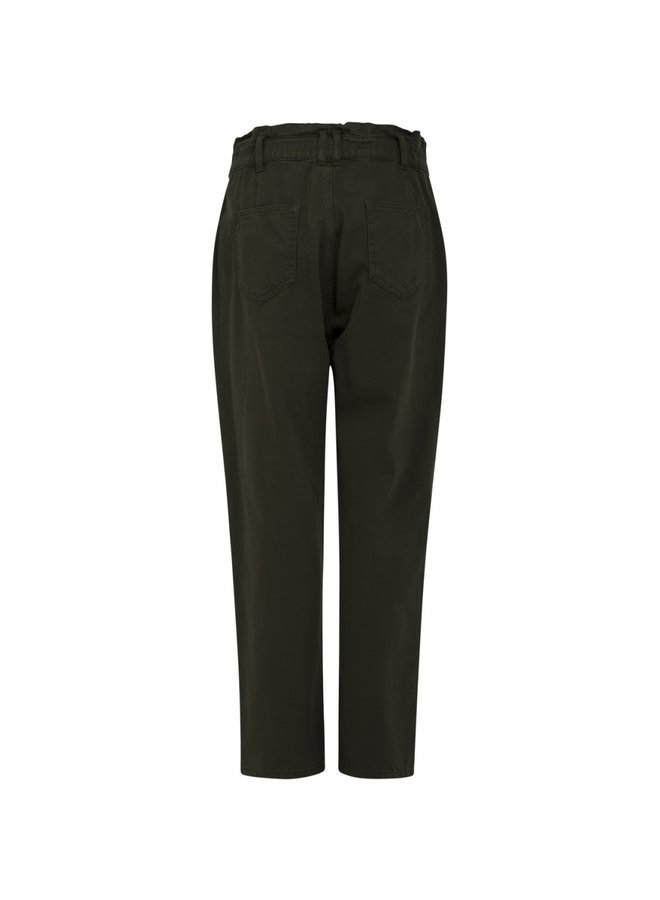 SOFT DENIM LOOSE FITTED PANTS