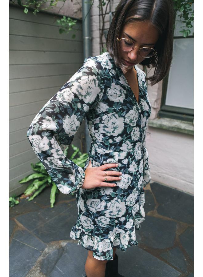 ROSY GREEN DRESS
