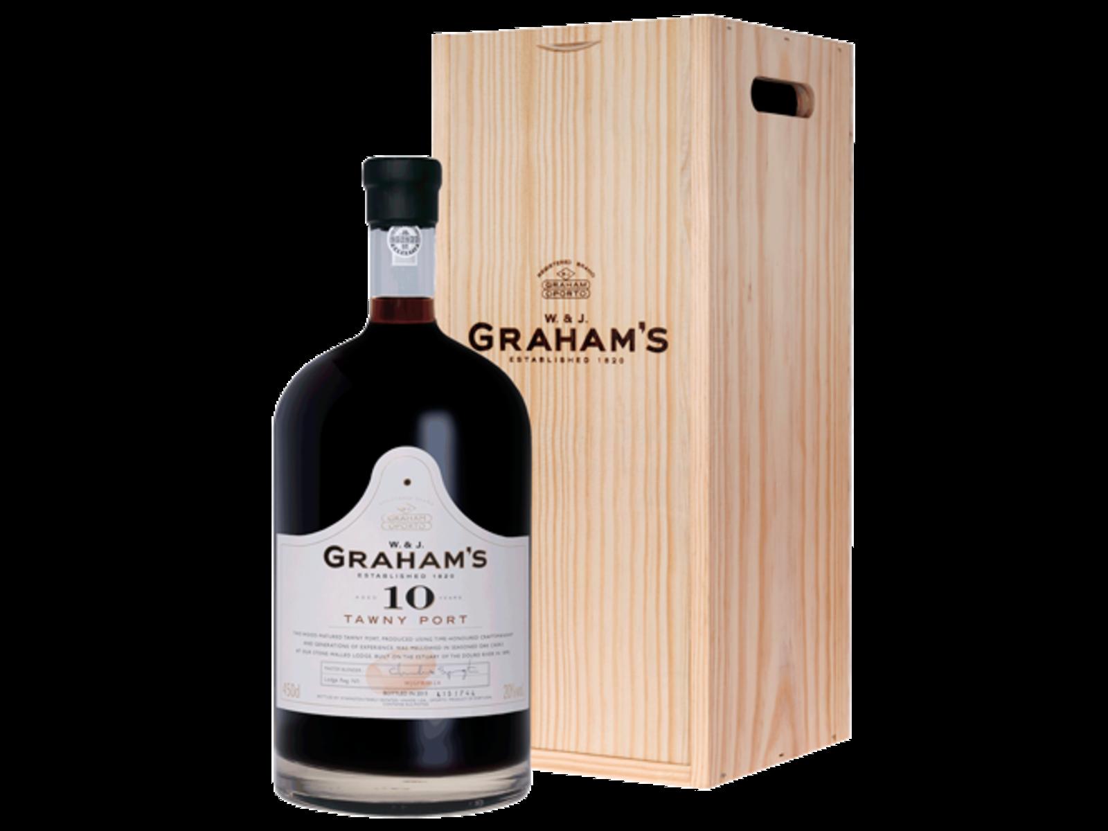 Graham's Port Graham's 10 Year Old Tawny Port (4,5L in houten kist)