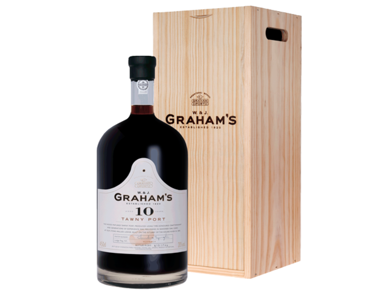 Graham's 10 Year Old Tawny Port (4,5L in houten kist)