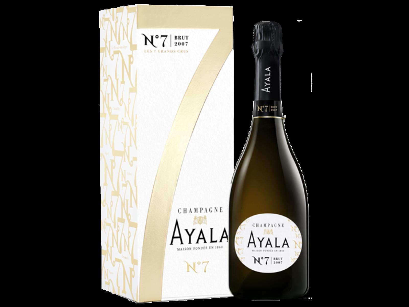 Ayala Ayala N° 7 Brut 2007 in luxe geschenkdoos