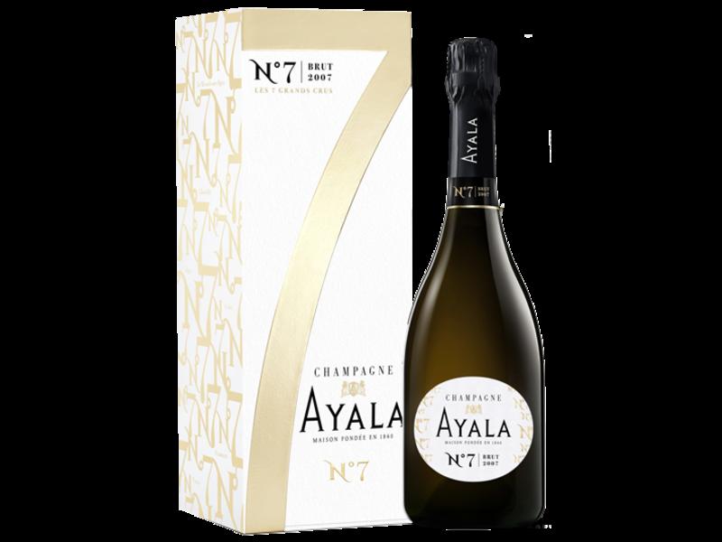 Ayala N° 7 Brut 2007 in luxe geschenkdoos