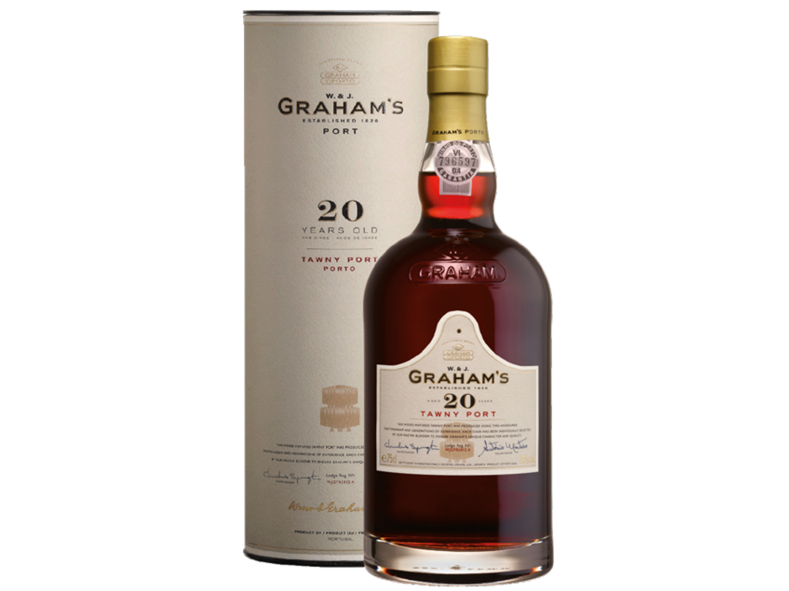 Graham's Port Graham's Port 20 Yo Tawny (Tube)