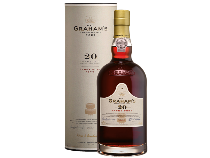Graham's Port 20 Yo Tawny (Tube)