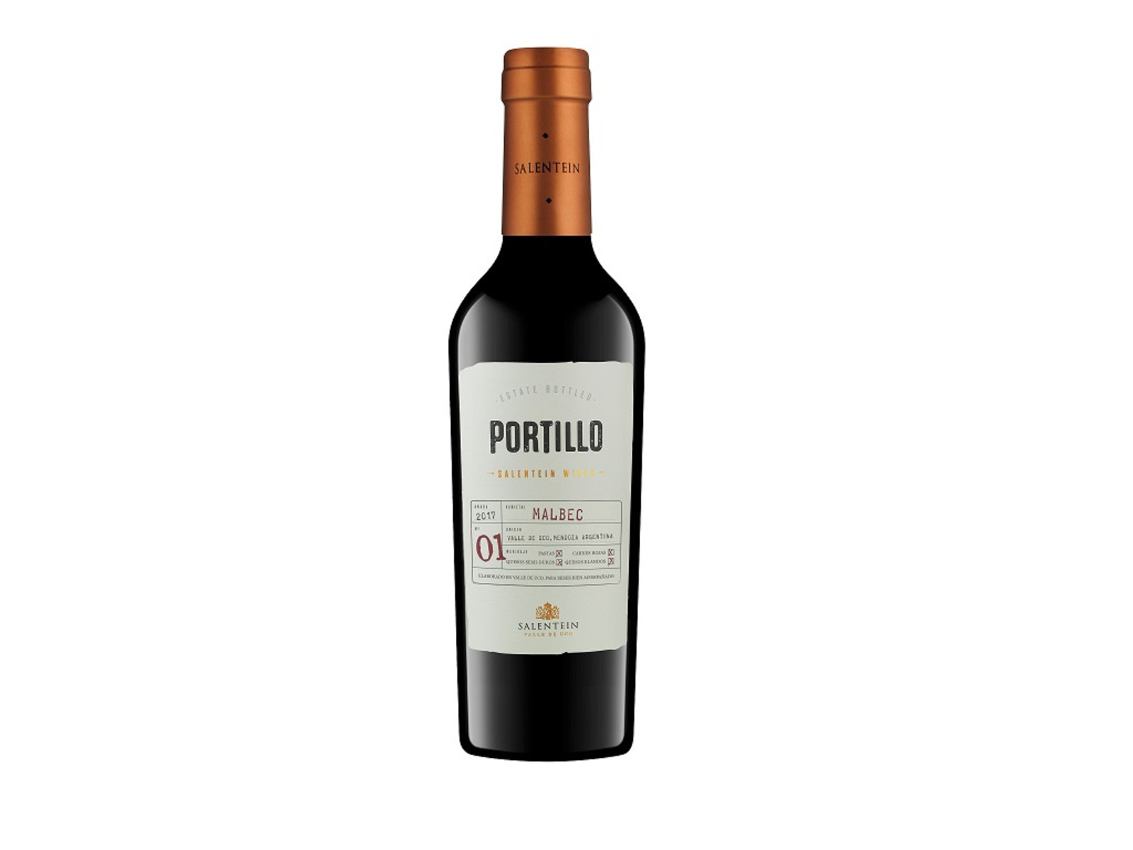 Bodegas Salentein Portillo / Malbec / 0,375L