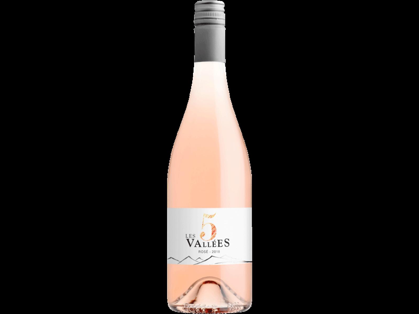 Domaines Paul Mas Les 5 Vallees / Rosé